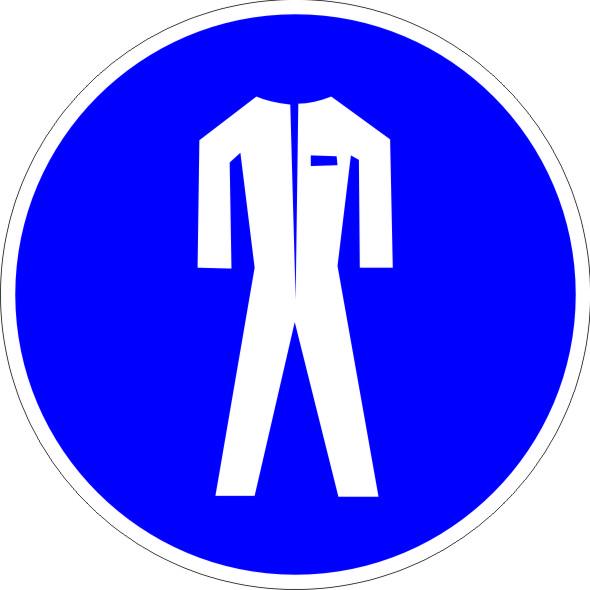 Safety vest symbol